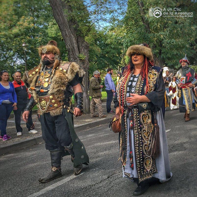 Guerreros del norte venidos a festejar el Fin de Semana Cidiano