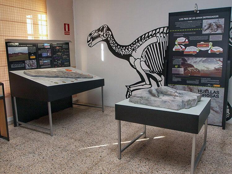 Museo de Dinosaurios de Salas de los Infantes - planes en familia para hacer en Burgos