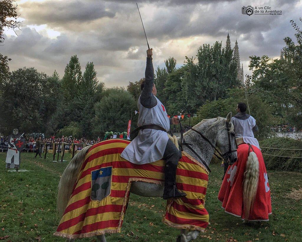 Torneo Medieval durante el Fin de Semana Cidiano en Burgos