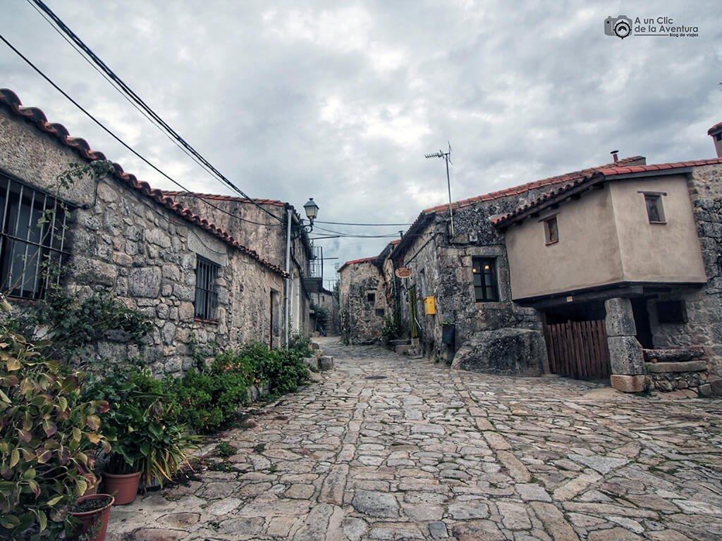 Calle de Trevejo - Sierra de Gata en familia