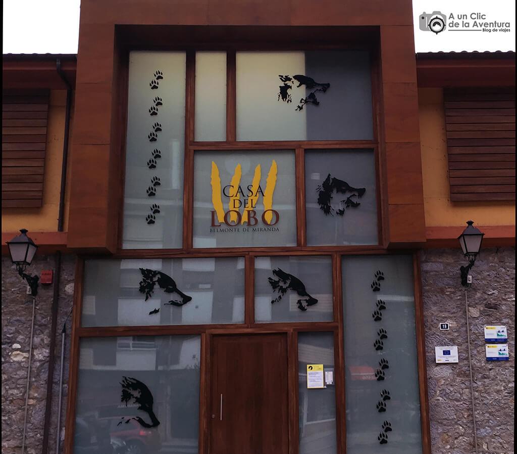 Casa del Lobo en Belmonte de Miranda