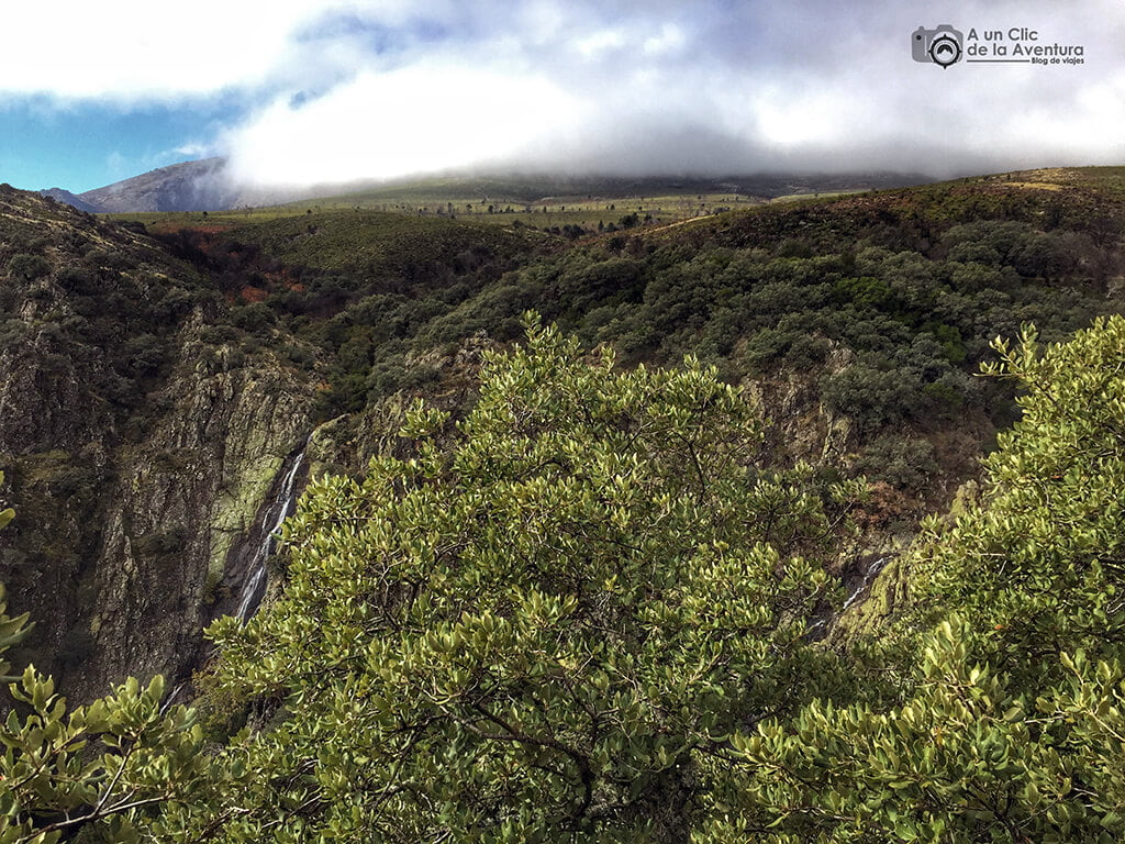 Cascada de la Cervigona en la Sierra de Gata - Sierra de Gata en familia