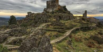 Castillo de Trevejo - Sierra de Gata en familia