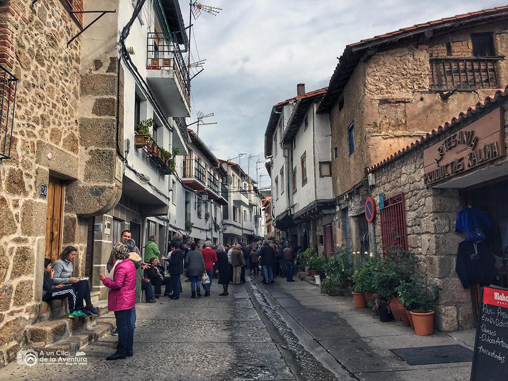 Celebrando San Martiño en San Martín de Trevejo - Sierra de Gata en familia