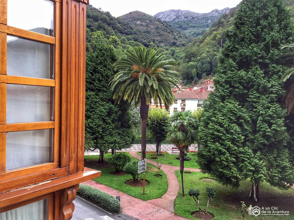 Vistas desde la habitación del Gran Hotel Rural Cela