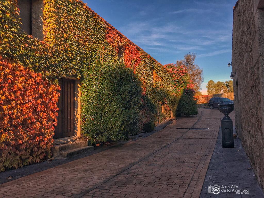Hotel Rural A Velha Fabrica en Valverde del Fresno - Sierra de Gata en familia