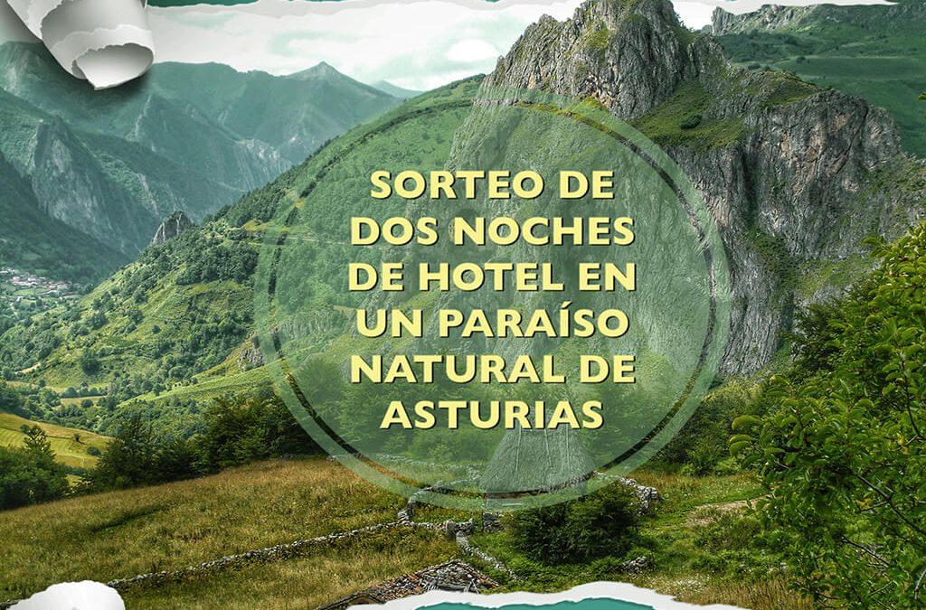Sorteo de dos noches de hotel en un paraíso natural de Asturias