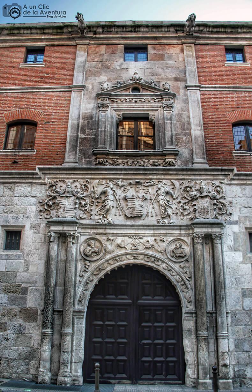 Fachada principal de la Casa de Miranda - principales monumentos de Burgos en el Renacimiento