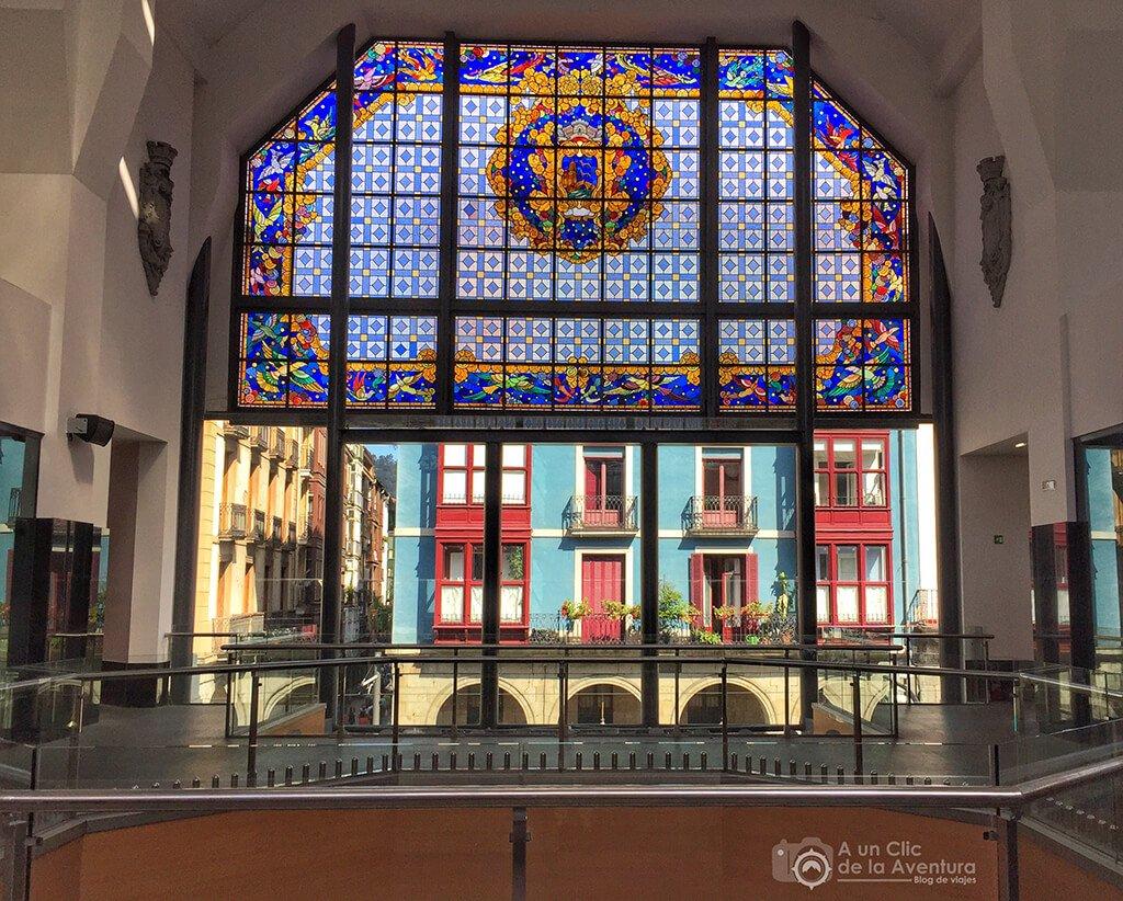 Interior del Mercado de la Ribera de Bilbao