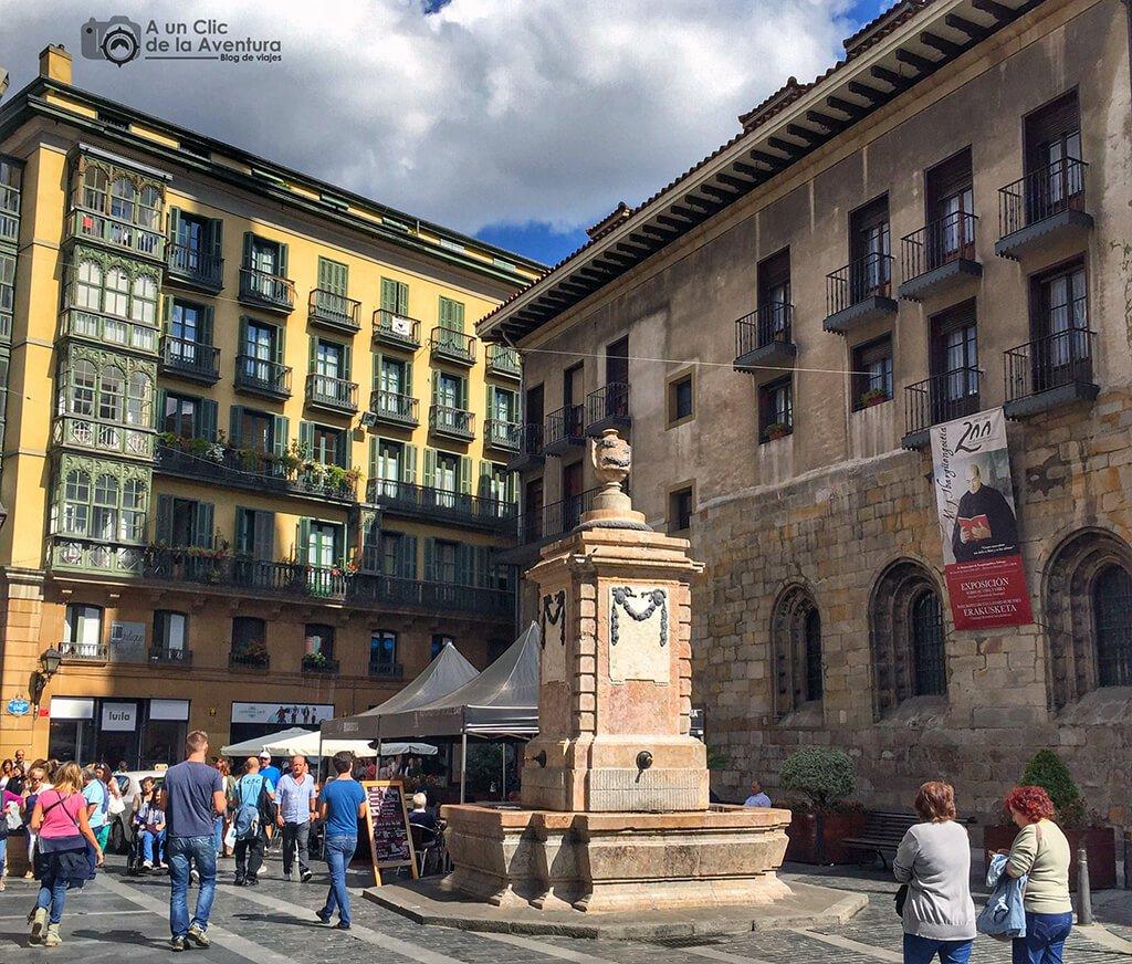 Plaza de Santiago de Bilbao - que ver en Bilbao