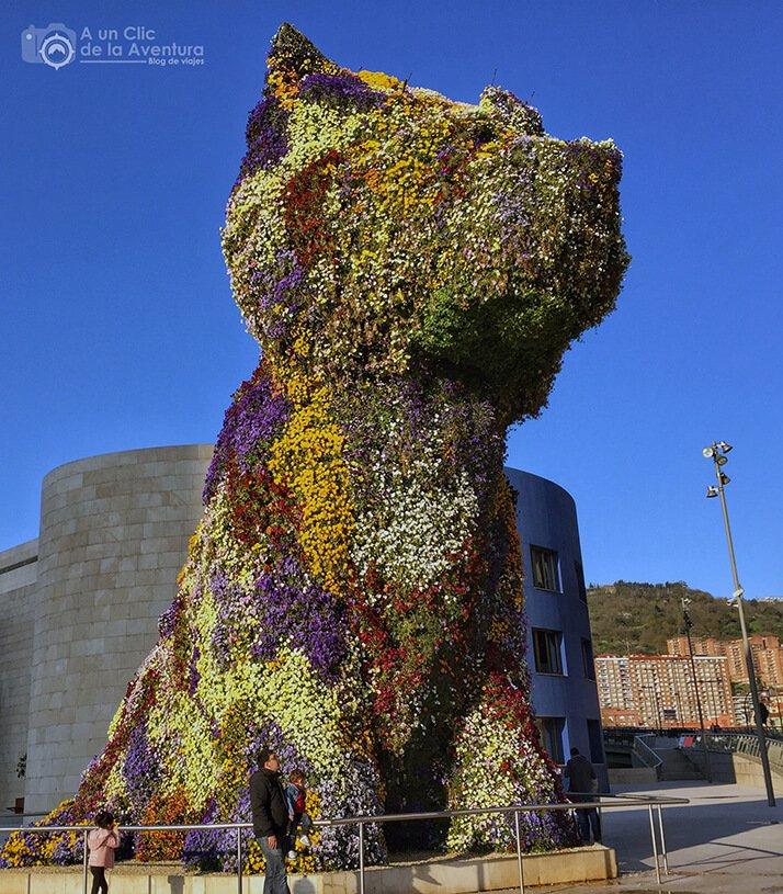 Puppy, la mascota del Guggenheim de Bilbao - que ver en Bilbao