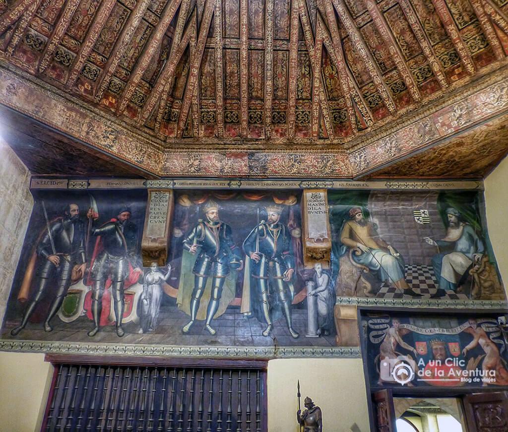 Sala de Poridad - principales monumentos de Burgos en el Renacimiento