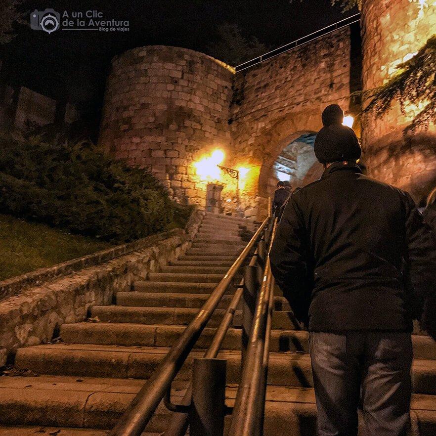 Subida al Arco de San Martín