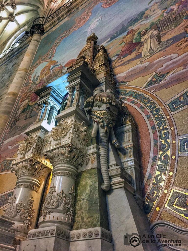 Altar dedicado a San Valentín de Berriotxoa, Elorrio