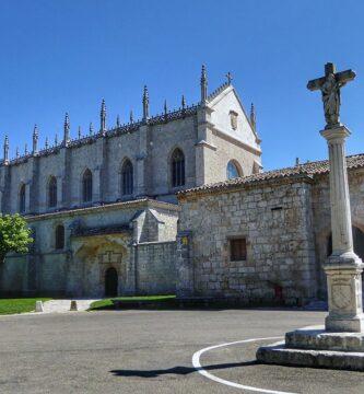 Cartuja de Miraflores en los alrededores de Burgos