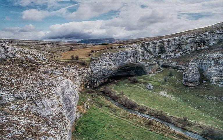 Sumidero del río Hurón - Valle de Sedano y Las Loras