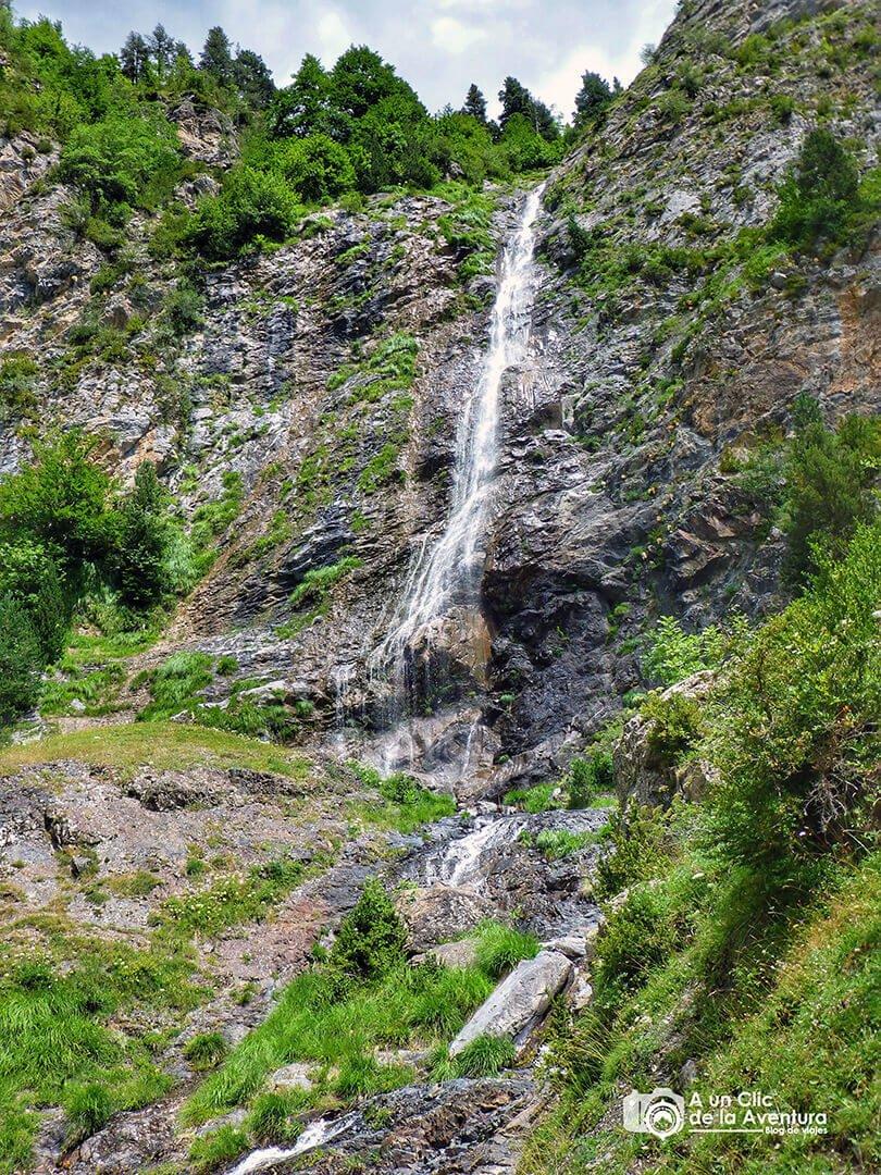 El salto del Pich en el Valle de Bujaruelo