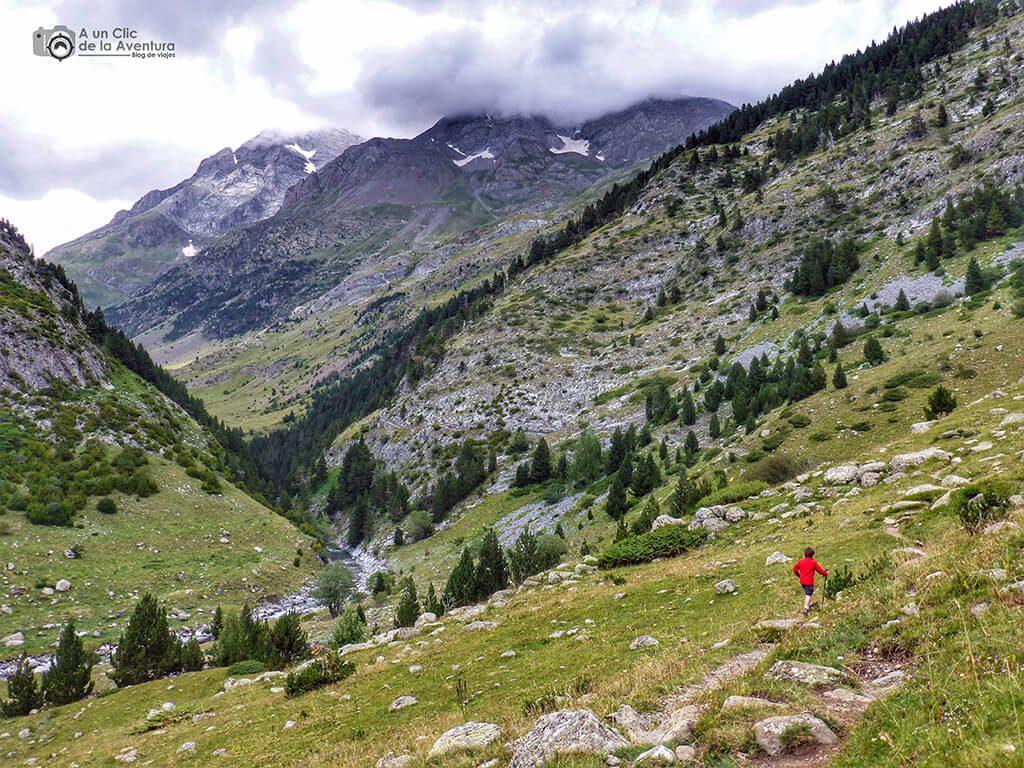 Ruta Valle de Bujaruelo después de Ordiso