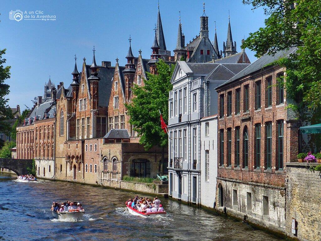 Canal de Brujas junto al Groenerei