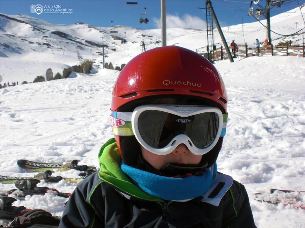 El uso del casco es obligatorio en niños
