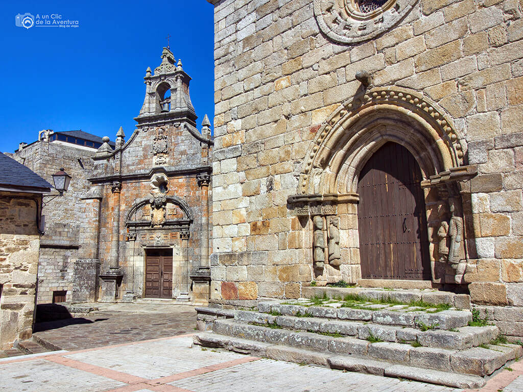 Iglesia de Nuestra Señora del Azogue y ermita de San Cayetano en Puebla de Sanabria
