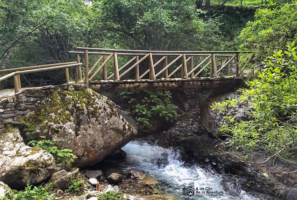 Puente de la Gorga - Parque Nacional de Aigüestortes i Estany de Sant Maurici