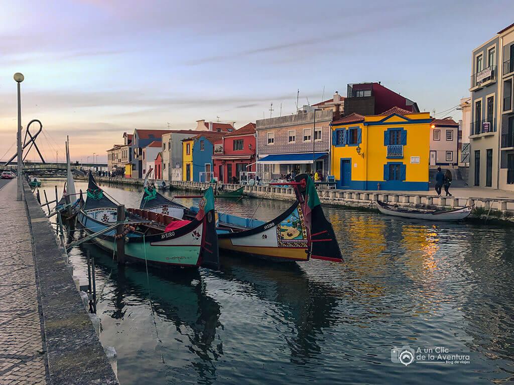 Barrio de Beira Mar en Aveiro - Oporto y norte de Portugal