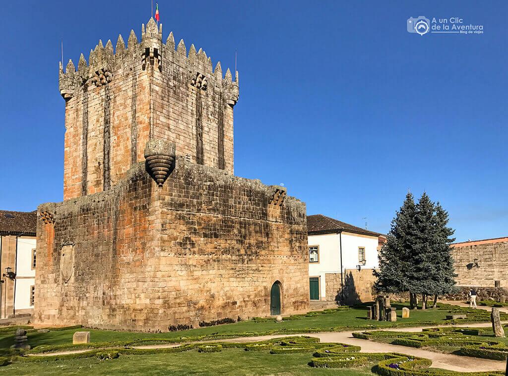 Torre del Homenaje del Castillo. Qué ver en Chaves