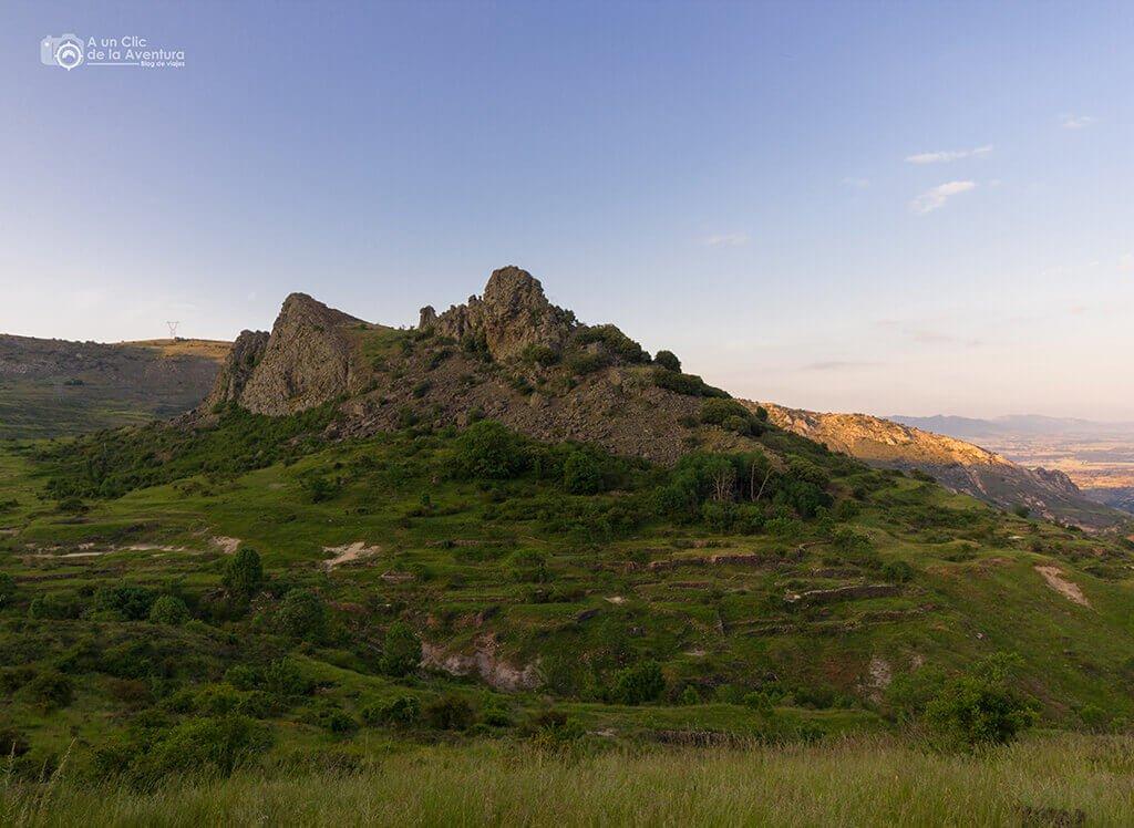 Diapiro de Poza de la Sal - ruta por la Bureba de Burgos