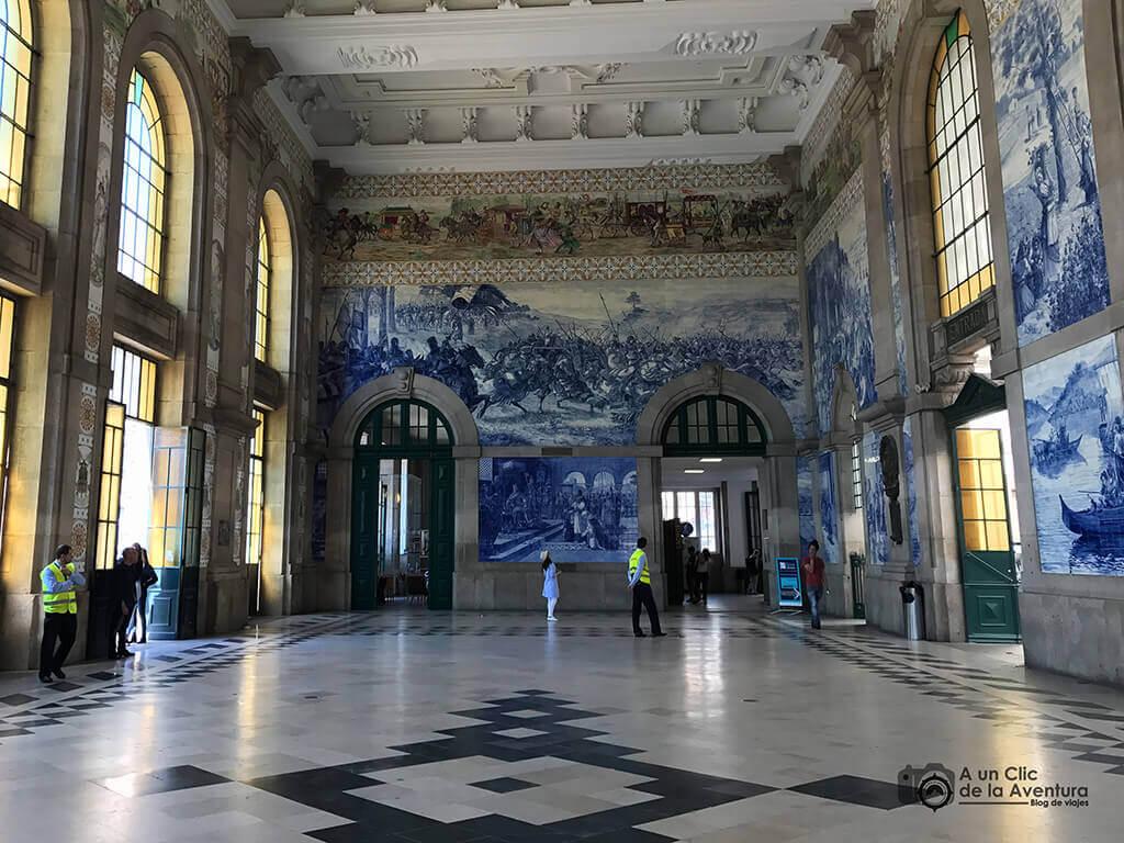 Estación de tren de Sao Bento - Oporto y norte de Portugal