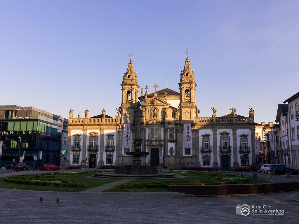 Iglesia de San Marcos en Braga - Oporto y norte de Portugal