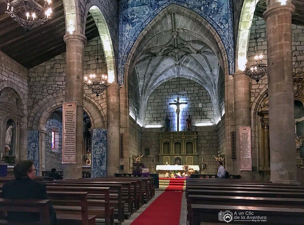 Iglesia de Santa Maria Maior. Qué ver en Chaves