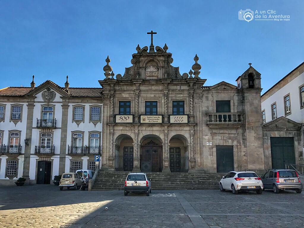 Iglesia de la Misericordia. Qué ver en Chaves