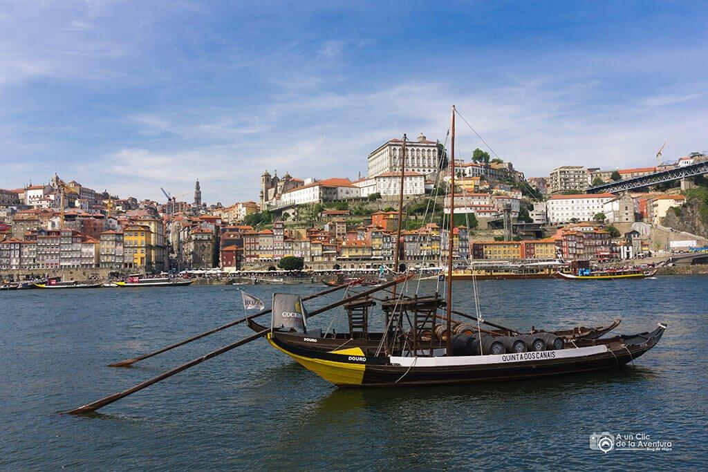 Río Duero a su paso por Oporto - Oporto y norte de Portugal