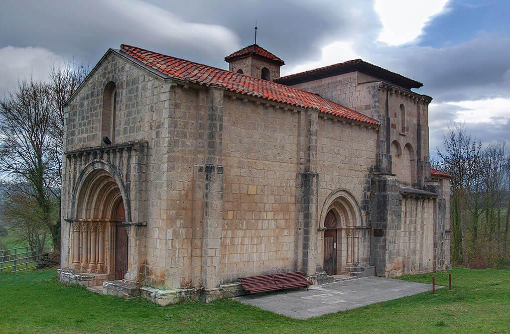 Iglesia de Santa María de Siones - qué ver en las Merindades de Burgos