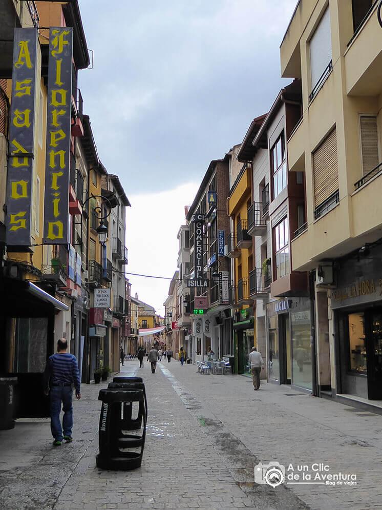 Calle Isilla - Que ver en Aranda de Duero