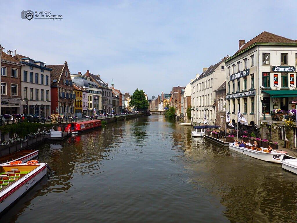 Canales de Gante - Qué ver en Gante