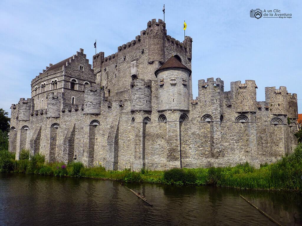 Castillo de los Condes de Gante - Qué ver en Gante
