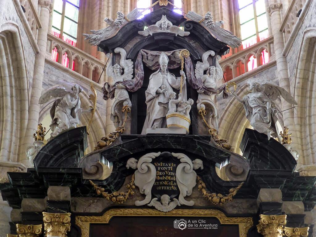 Retablo de la Iglesia de San Nicolás - Qué ver en Gante