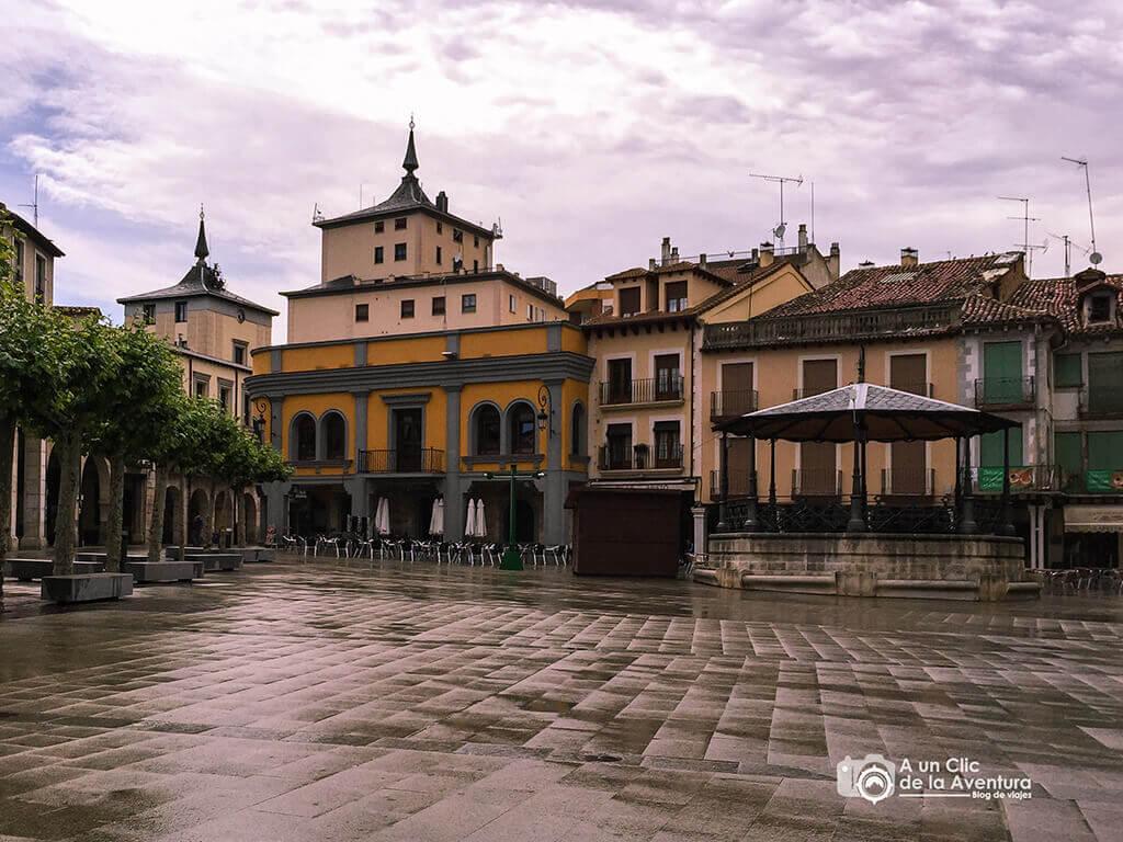 Plaza Mayor - Que ver en Aranda de Duero