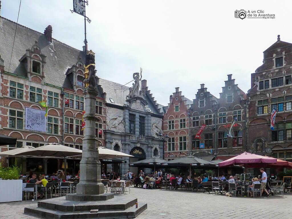 Plaza Sint-Veerleplein - Qué ver en Gante