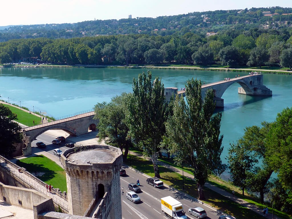 Puente de Avignon en Francia