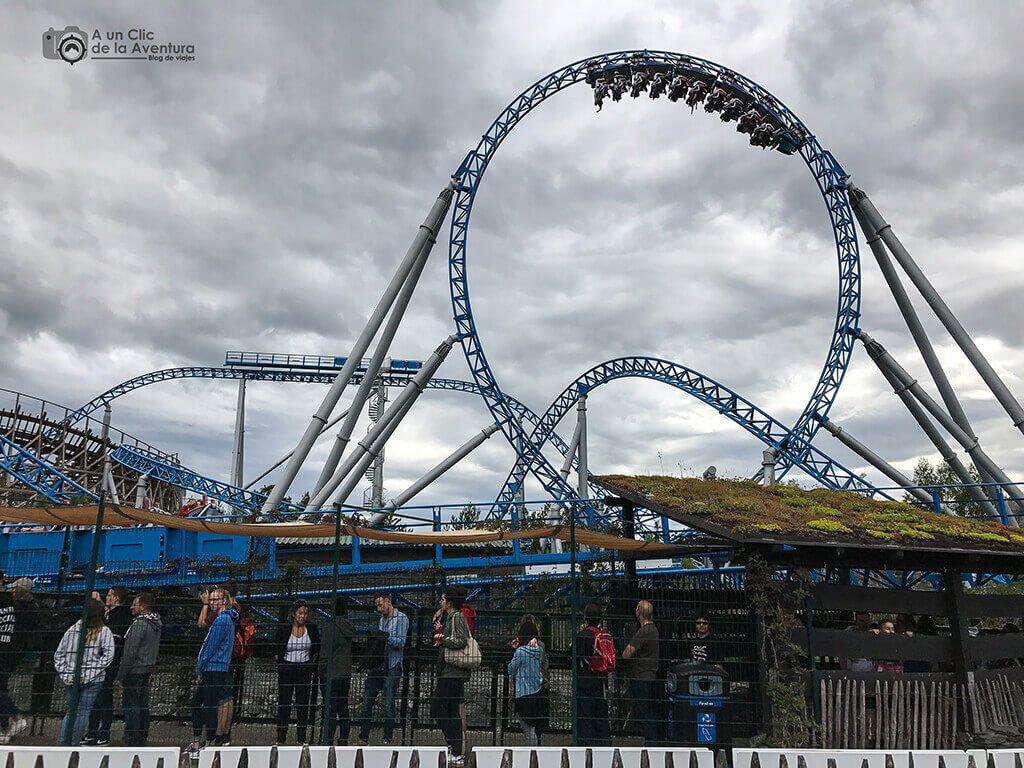 """Montaña rusa """"Blue Fire"""" - guía para visitar Europa Park"""
