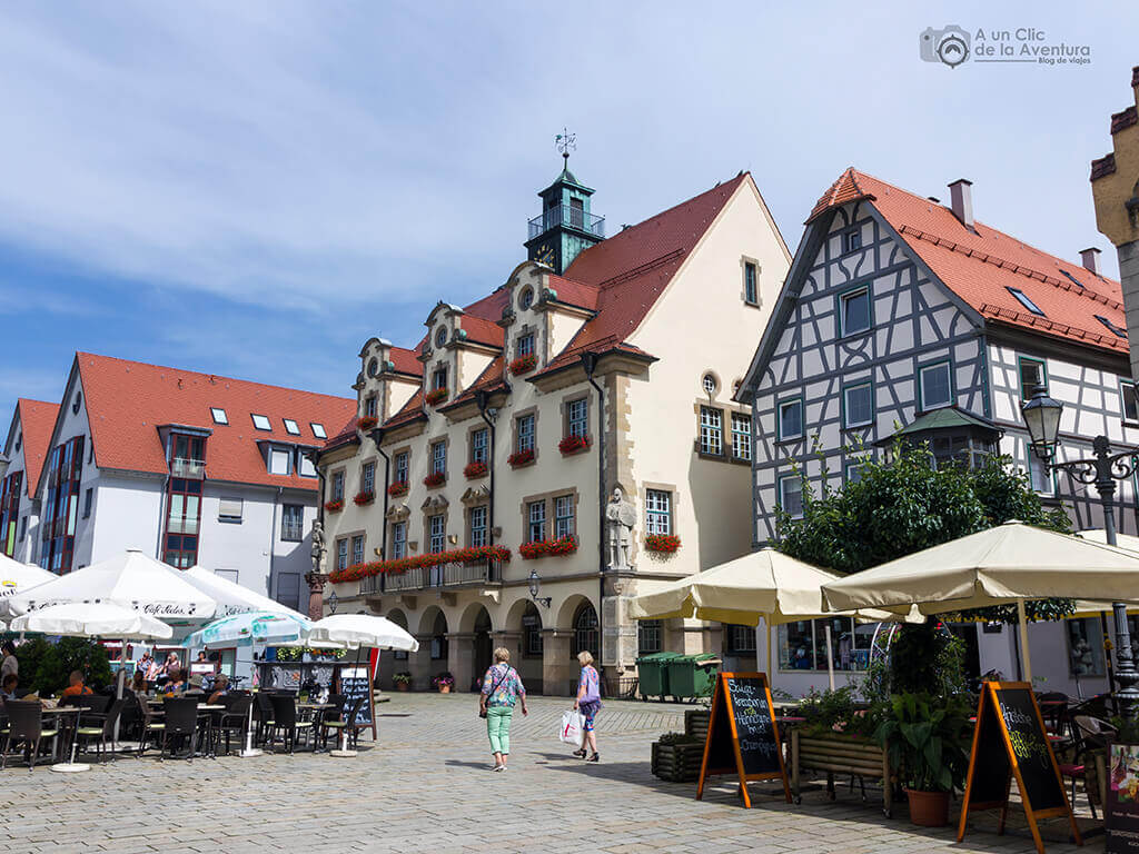 Centro histórico de Sigmaringen
