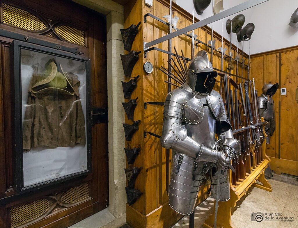 Colección de armas del Castillo Hohenzollern Sigmaringen