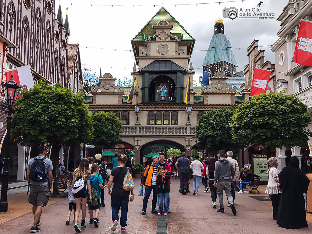 Entrada principal - guía para visitar Europa Park