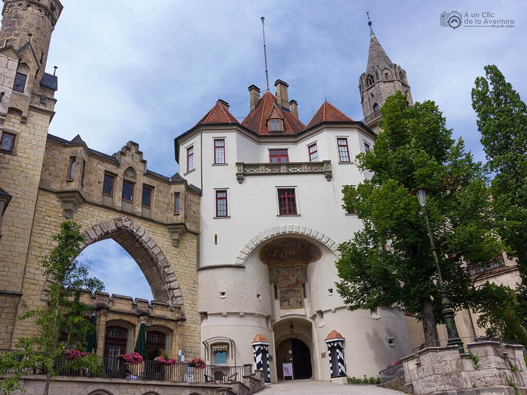 Entrada al Castillo Hohenzollern Sigmaringen