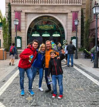 Entrada al Voletarium - visitar Europa Park