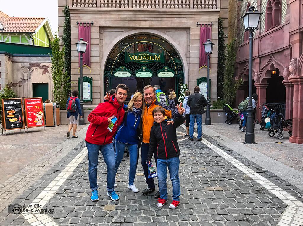 Entrada al Voletarium - guía para visitar Europa Park