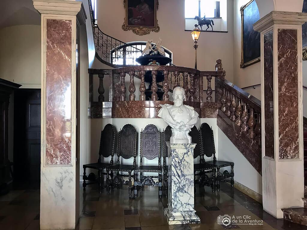 Escalera del Castillo Hohenzollern Sigmaringen